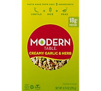 Modern Table Meals Meal Kit Lentil Pasta Creamy Garlic & Herb Box - 9.74 Oz