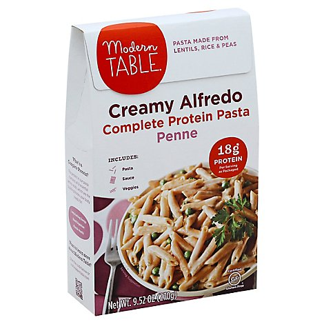 Modern Table Meals Meal Kit Lentil Pasta Creamy Alfredo Box - 9.52 Oz
