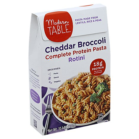 Modern Table Meals Meal Kit Lentil Pasta Cheddar Broccoli Box - 10.1 Oz