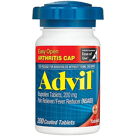 Advil Ibuprofen Tabs Eo - 200 Count