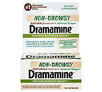 Dramamine Non-Drowsy Natural - 18 Count