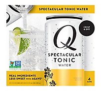 Q Mixers Tonic Water - 4-7.5 Fl. Oz.
