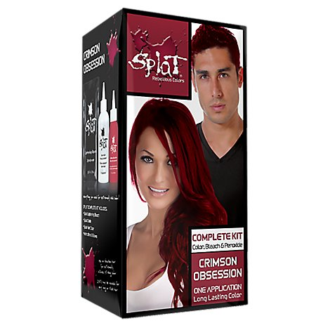 Splat Hair Color Kit Cream Obsession - Each