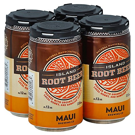 Maui Brewing Island Root Beer - 4-12 Oz