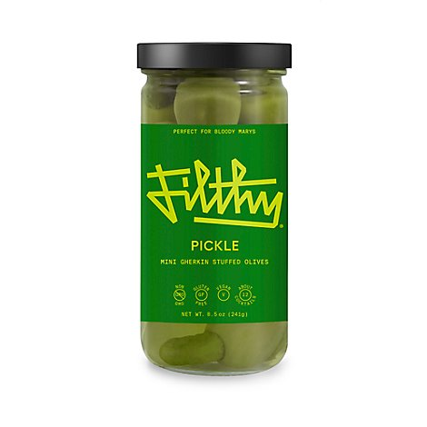 Filthy Pickle Olives - 8 Oz