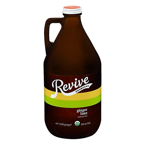 Revive Kombucha Wild Ginger - 60 Fl. Oz.