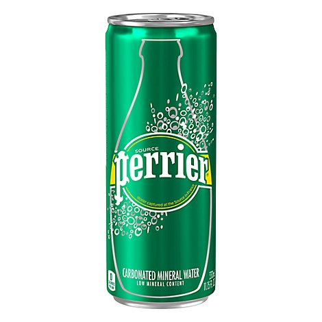 Perrier Original Sleek Can - 330 Ml