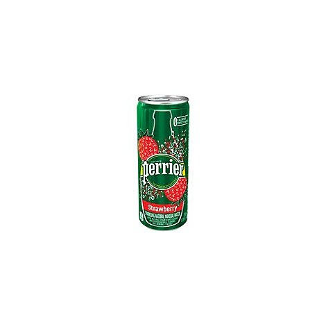Perrier Strawberry Sleek Can - 18.5 Ml