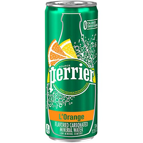 Perrier Lorange Sleek Can - 330 Ml