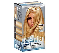 LOreal Feria Hair Color Permanent Ultra Pearl Blonde 11.21 - Each