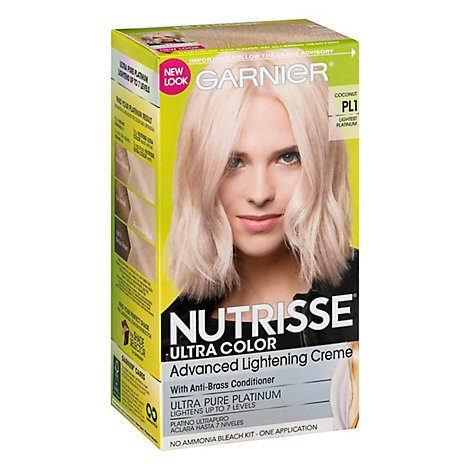 Nutrisse Ultra Color Bleach Kit Advanced Lightening Creme Lightest Platinum Plt - Each