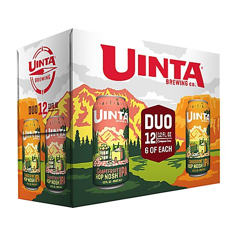 Uinta Duo Pk In Cans - 12 Fl. Oz.