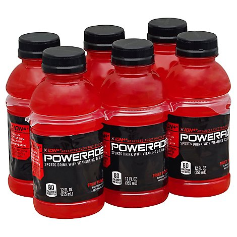 Powerade Fruit Punch - 6-12 Fl. Oz.