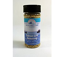 Monterey Bay Seafood Salmon Grill Seasoning Rub - 7 Oz