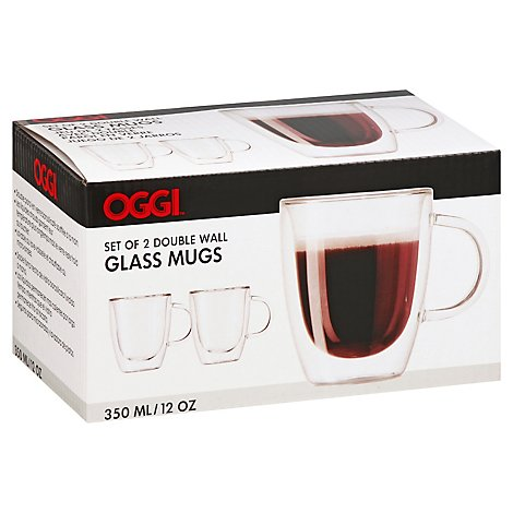Borosilicate Double Wall Espresso Cups Set - Each