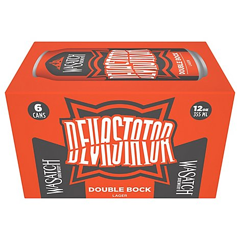 Wasatch Devastator Double Bock In Cans - 6-12 Fl. Oz.