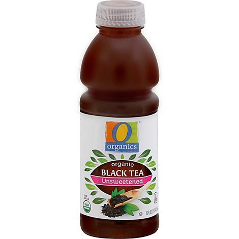 O Organics Tea Black Unsweetened - 16 Fl. Oz.