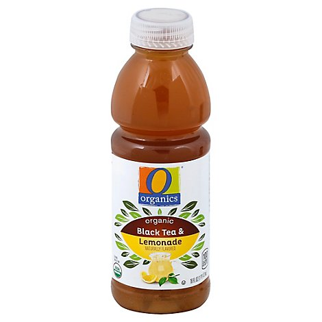 O Organics Organic Half & Half Blend Iced Tea & Lemonade - 16 Fl. Oz.