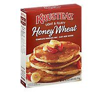 Krusteaz Whole Wheat Honey Pancake Mix - 25.2 Oz