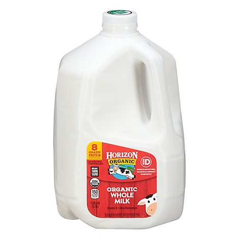 Horizon Organic Milk Whole 1 Gallon - 128 Fl. Oz.