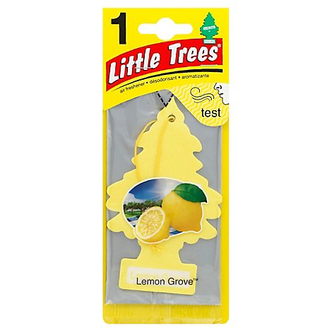 Little Tree Air Freshener Lemon Grove - Each