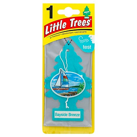 Little Tree Air Freshener Bayside Breeze - Each