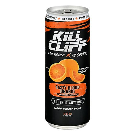 KILL CLIFF Recovery Drink Blood Orange - 12 Fl. Oz.