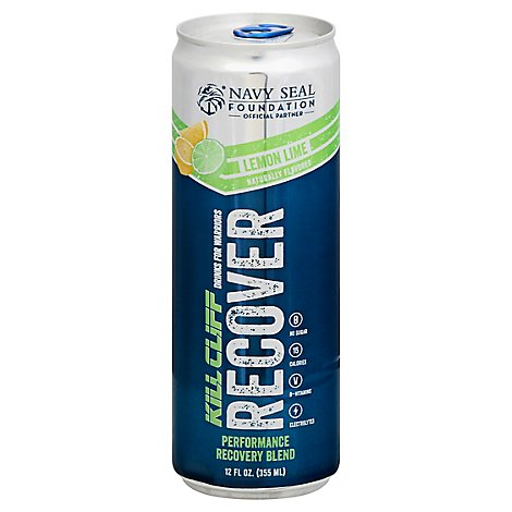 Kill Cliff The Recovery Drink Lemon Lime - 12 Fl. Oz.