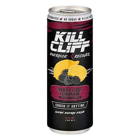 Kill Cliff Recovery Drink Blackberry Lemonade - 12 Fl. Oz.