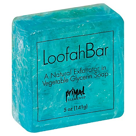 Facets Of The Sea Loofah Bar Soap - 5 Oz