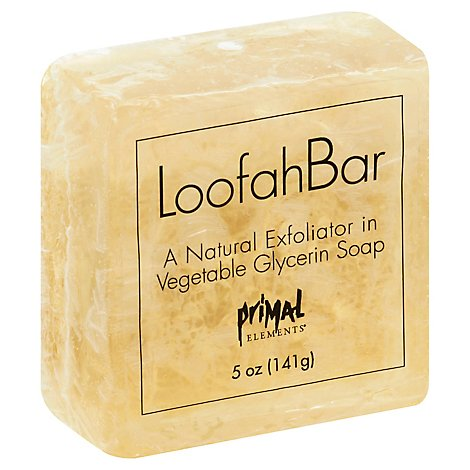 Salted Lemonade Loofah Bar Soap - 5 Oz