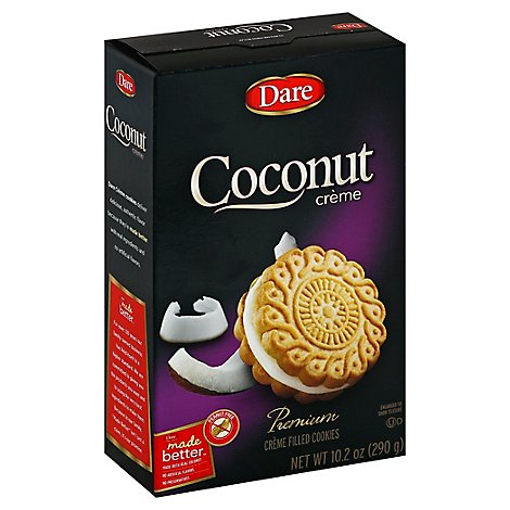 Dare Coconut Creme Cookie - 10.2 Oz