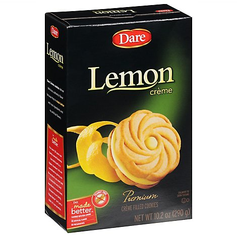 Dare Cookies Creme Filled Lemon - 10.2 Oz