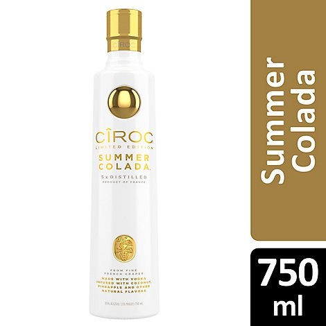CIROC Vodka Summer Colada - 750 Ml