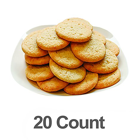 Bakery Cookies Sugar Ts 20 Count - Each