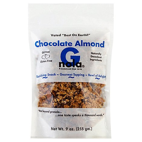 G-nola Granola Chocolate Almond - 9 Oz