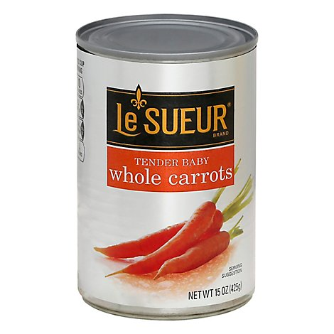 Le Sueur Carrots Whole Tender Baby - 15 Oz
