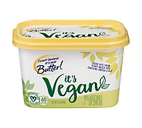 I Cant Believe Its Not Butter Spread Vegetable Oil 45% Its Vegan - 2-7.5 Oz