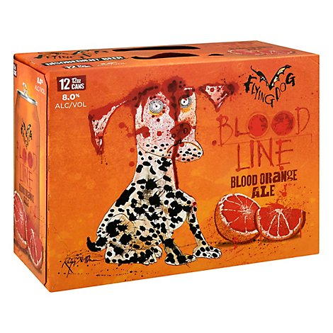 Flying Dog Bloodline Blood Orange In Cans - 12-12 Fl. Oz.