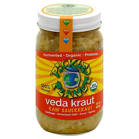 Pickled Planet Veda Kraut - 16 Oz