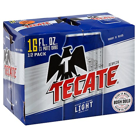 Tecate Light In Bottles - 12-16 Fl. Oz.