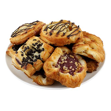 Bakery Danish Mini Variety 10 Count - Each