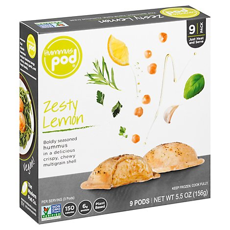 Hummus Po Hummus Pod Zesty Lemon - 5.4 Oz