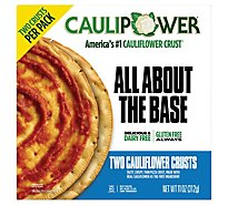 Caulipowe Pizza Crust Frozen 2 Pack - 12 Oz