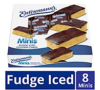 Entenmanns Minis Fudge Golden Cakes - 13.2 Oz