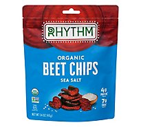 Rhythm Superfoods Beet Chips Sea Salt - 1.4 Oz