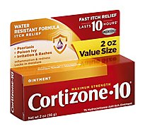 Cortizone 10 Anti-Itch Ointment Maximum Strength - 2 Oz