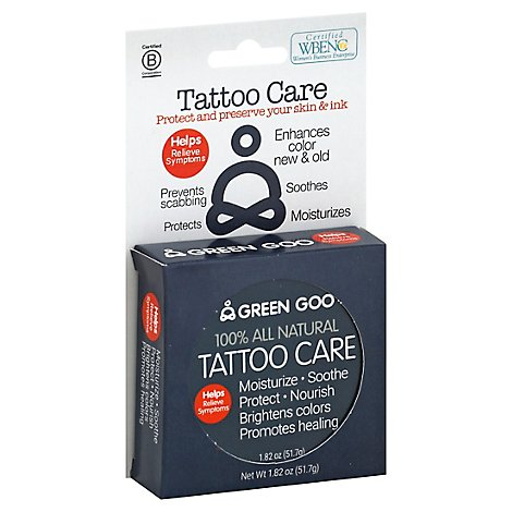 Green Goo Tattoo Care - 1 Each