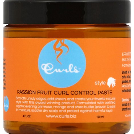 Curls Passion Fruit Curl Control Paste - 4 Fl. Oz.