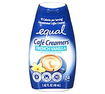 Equal Cafe Creamers French Vanilla - 1.62 Fl. Oz.